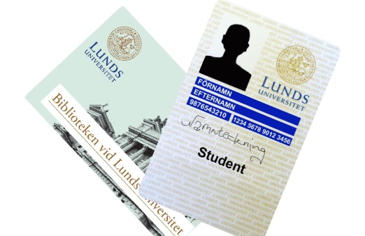 Library Card at Lund University
